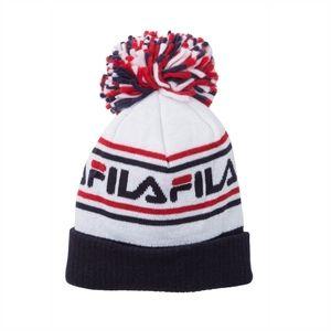 FILA Logo Pompom Knit Cap